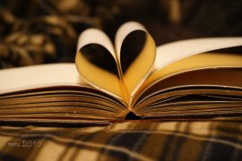 books heart